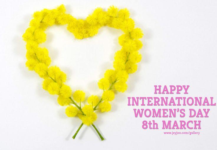 International Women's Day 8th March #festadonna