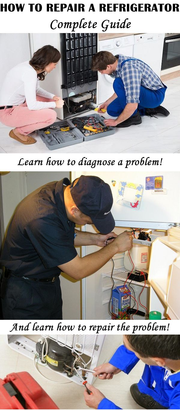 Complete guide for diagnosing and repairing the most common problems with your refrigerator! You'll be surprised when you see how much stuff you can repair yourself!