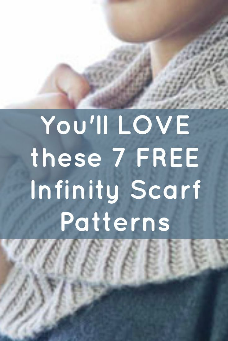17 best infinity scarf patterns images on pinterest headdress free knitting patterns you have to knit bankloansurffo Choice Image
