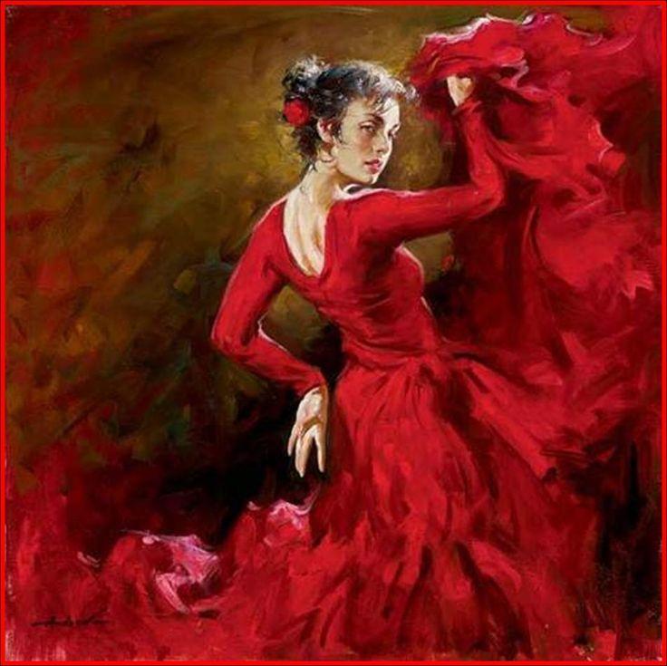 Flamenco http://www.pinterest.com/mscellanea/flamenco-paintings/