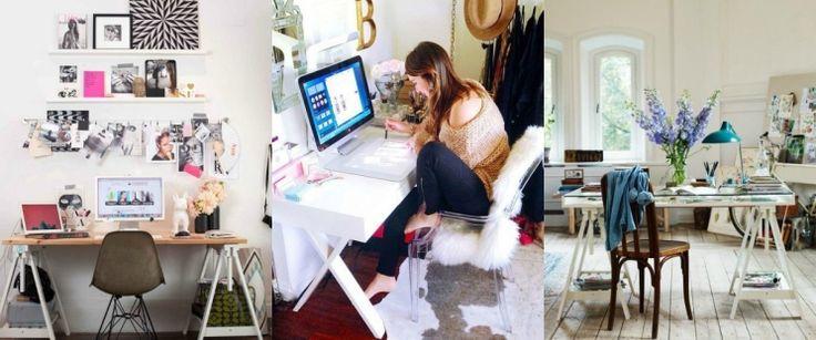 12 ιδέες για να ανανεώσετε και να διακοσμήσετε το γραφείο σας!
