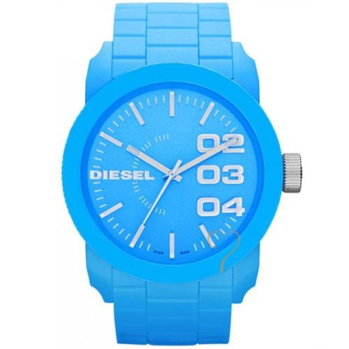 Ρολόι Diesel Franchise S44 Light Blue Silicon Strap - BeMine.gr