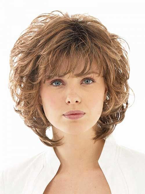 Short Hairstyles For Frizzy Hair Prepossessing 31 Best Short Hairstyles For Round And Chubby Faces Images On