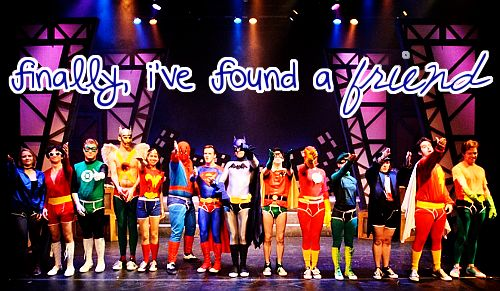 Day 5- Favorite Starkid Song. Super Friends from Holy Musical B@man. I WANNA BE A MODERN DANCER!