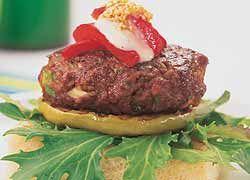Sesame Lamb Burgers recipe from Food in a Minute