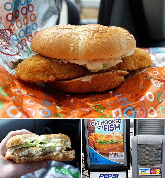 Arby's Fish Sandwich