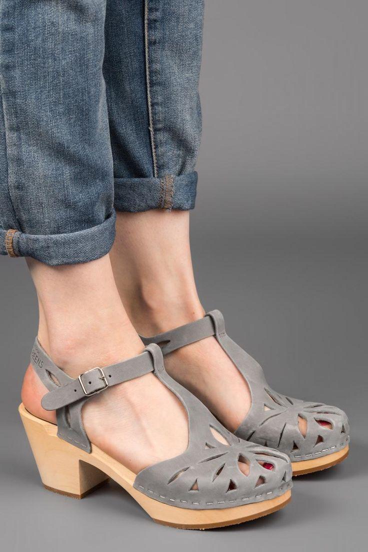 Lacy High Grey Nubuck | That Shoe Lady