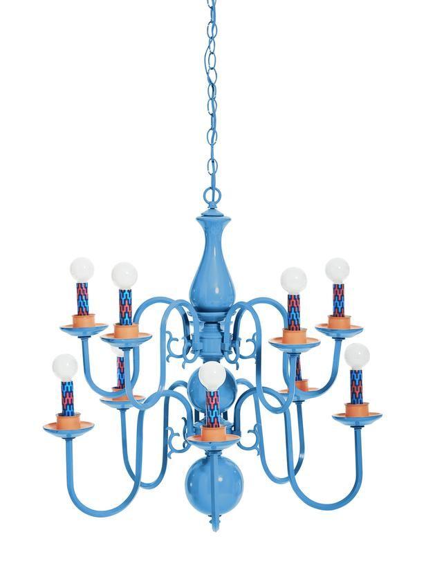 Best 25+ Blue chandelier ideas on Pinterest   Painted chandelier ...