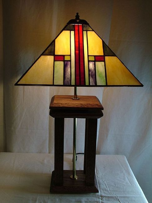 Artistry In Glass Lamp Forms And Patterns