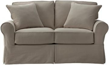 Mayfair Loveseat Slipcover - Loveseat Slipcovers - Furniture Slipcovers | HomeDecorators.com