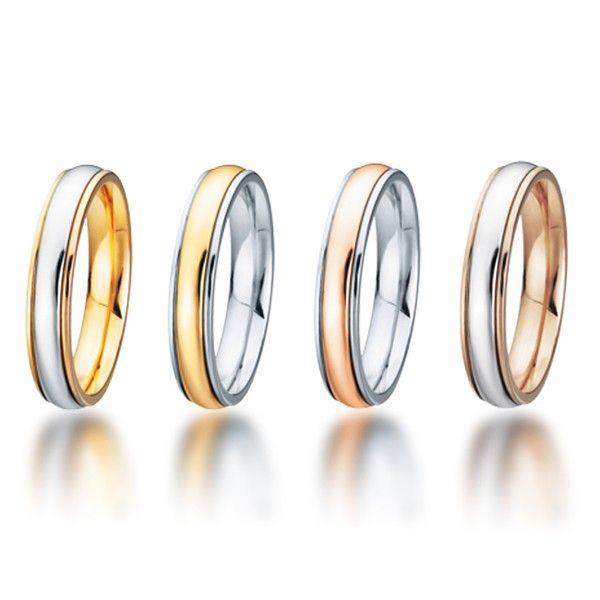 Alianzas de Boda modelo 200 en todas variaciones de color. Wedding bands model 200 all color variations. Worldwide available