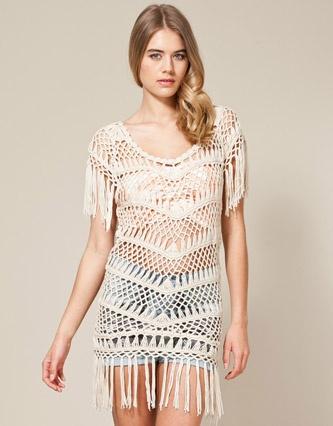 Soul Cal Deluxe Crochet Dress