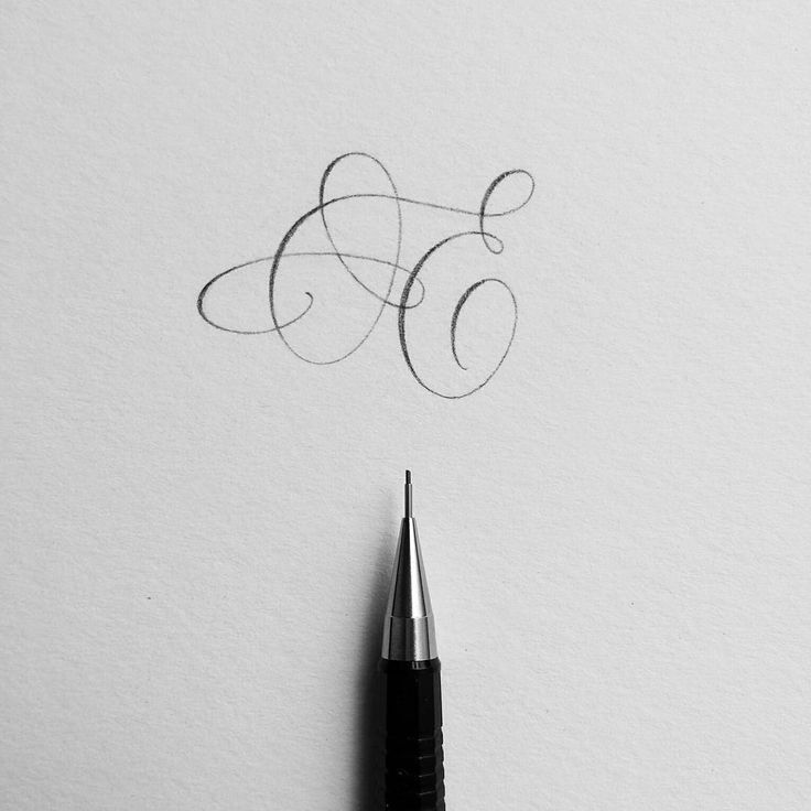 Many of you told me that you struggle with one (or both) of your initials. I feel you. I have never met a cursive E that I really love. The solution? Throw a crazy flourish at it and just walk away.   .   Swipe left to see the first stage of the drawing and a peek at my ugly brainstorming process. #ep_letters #pencilcalligraphy #pencillettering