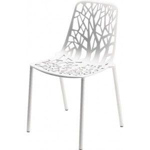 Ik vond dit op Beslist.nl: Stoel Forest- aluminium - wit