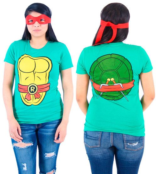 Commemorate your favorite cult classic with an awesome TMNT Teenage Mutant Ninja Turtles Costume Juniors T-Shirt . Free shipping on Teenage Mutant Ninja Turtle Costumes orders over $50.