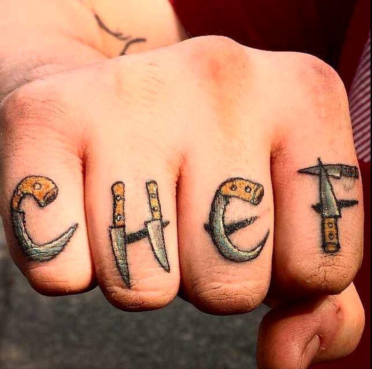 Chef tattoo                                                                                                                                                                                 Más