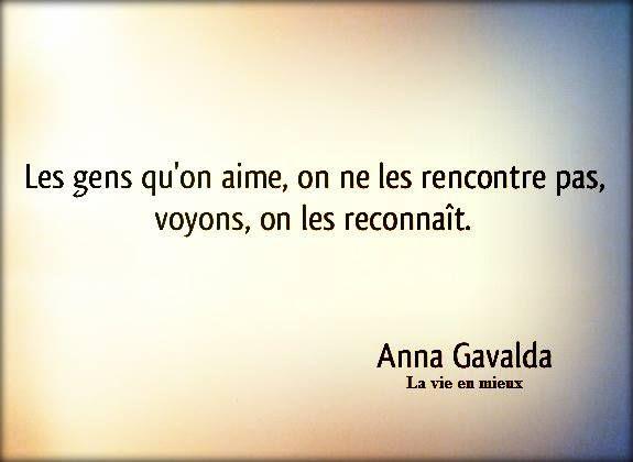 "Anna Gavalda ""La vie en mieux"""
