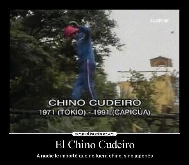 Chino Cudeiro