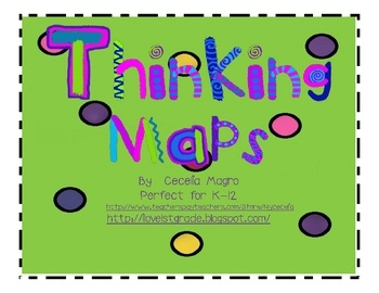 I couldn't find these templates online so I created them.  Includes bubble, brace, tree, flow, double bubble, bridge map.  I also added posters for...