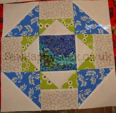 churn dash quilt block | Tutorial Tuesday: Churn Dash Redux {Quilt Block} | SewHappyGeek