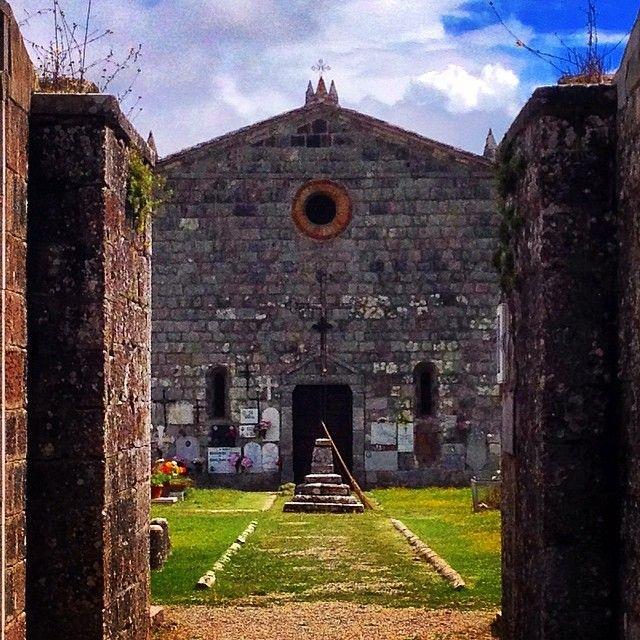 Cimitero - Radicofani | #siena #valdorcia #toscana #italia #tuscany #italy