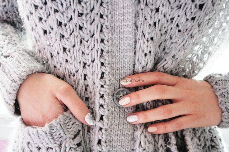 nail, nails, blogger, sweater