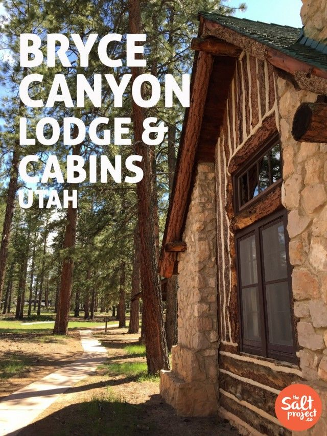 Bryce Canyon Lodge & Cabins | Road Trippin' | Southern Utah | The Salt Project | Things to do in Utah with kids