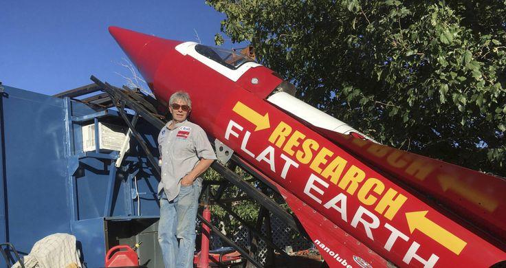 """Un hombre se lanzará en un cohete casero para demostrar que """"la Tierra es plana"""""""