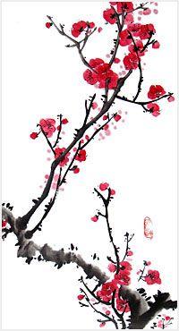 Kaukoidän kuvissa on usein vähemmän, kuin länsimaalaisissa, jolloin yksittäisten asioiden sommitteluun voi kiinnittää enemmän huomiota (vrt ikebana -kolmiulotteinen kukkien sommittelutaide)