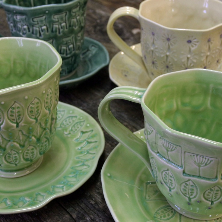 Porcelain Cups - Mark Strayer, North Star Potttery