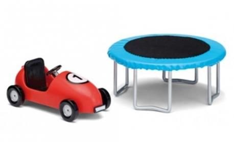 Smaland 2015 Trampoline And Coaster Car By Lundby