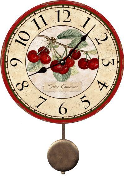 Cherry Clock