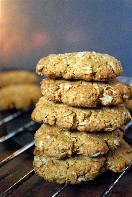 """Овсяное печенье """"Golden Crunch"""" Это классическое новозеландско-автралийское печенье по оригинальному рецепту. Оно очень хрустящее и долго хранится"""
