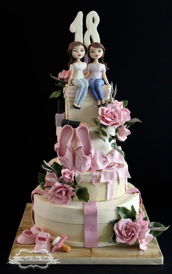 18th Birthday Cake by Angela Penta