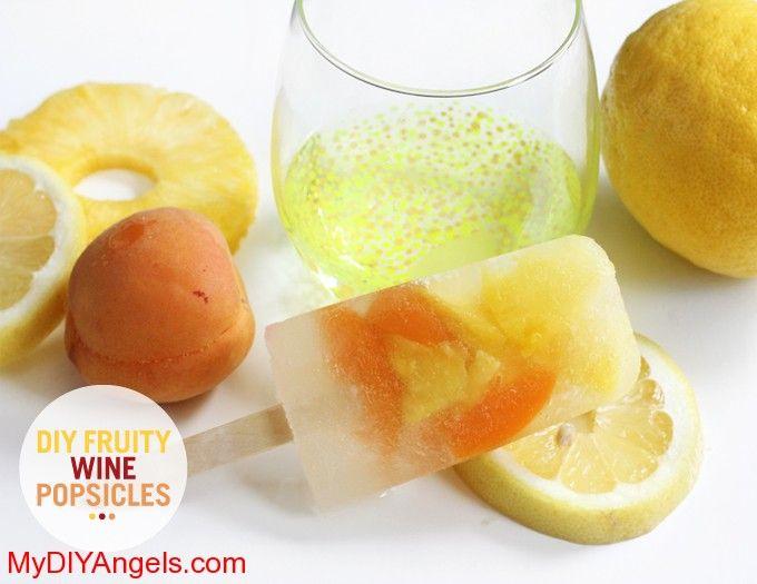 MY DIY – Fruity Wine Popsicle