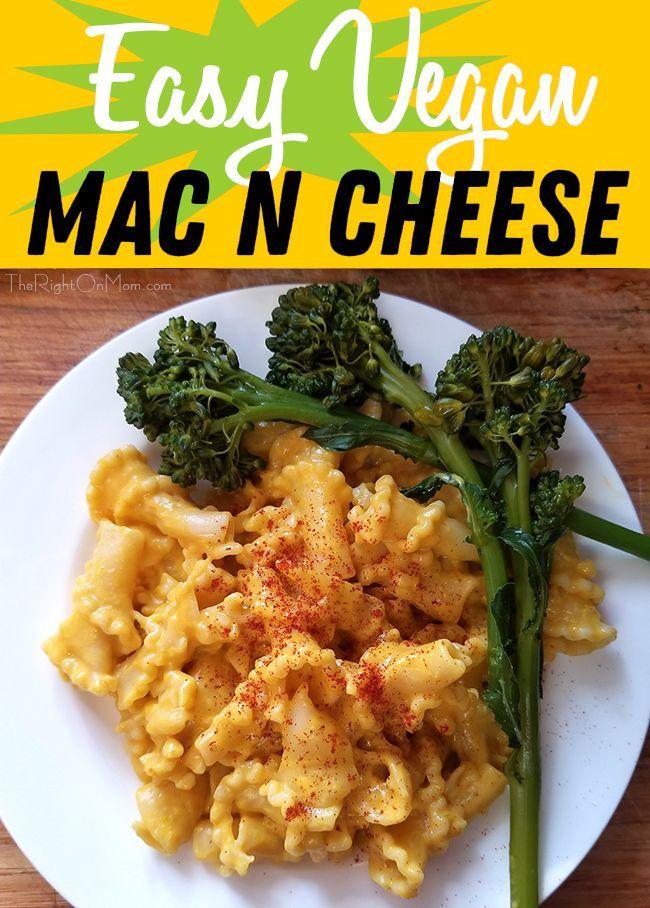 Vegan Potato Carrot Mac And Cheese Recipe Easy Vegan Mac And Cheese Recipe Vegan Mac And Cheese Mac And Cheese