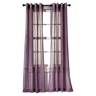 the best 28 images of purple sheer curtains target