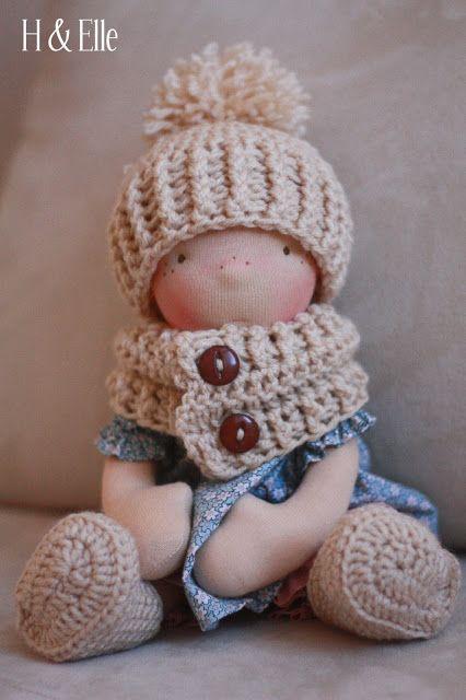 379 best Waldorf Dolls images on Pinterest | Fabric dolls, Rag dolls ...