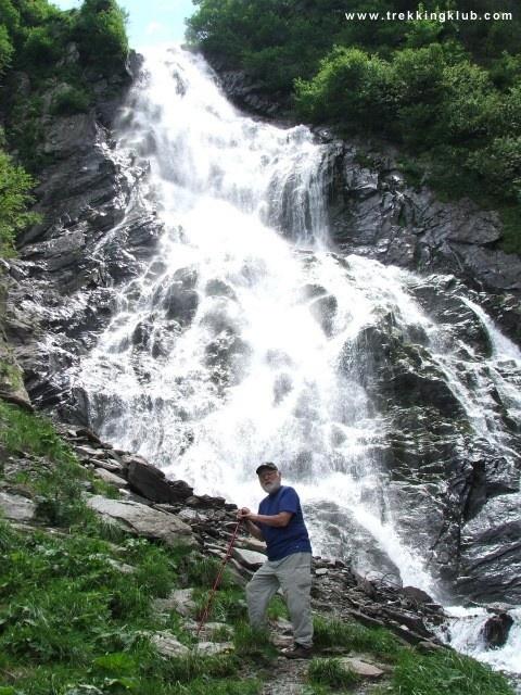 The cascade up close. #Balea_waterfall - #Fagaras_mountains, #Transylvania