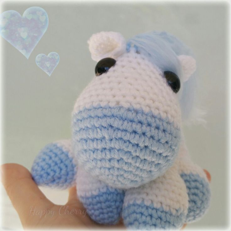 Crochet pony amigurimi