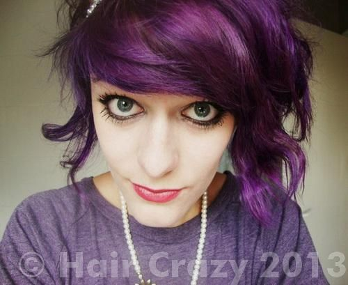 Getting a dark purple hair color? How? - Forums - HairCrazy.