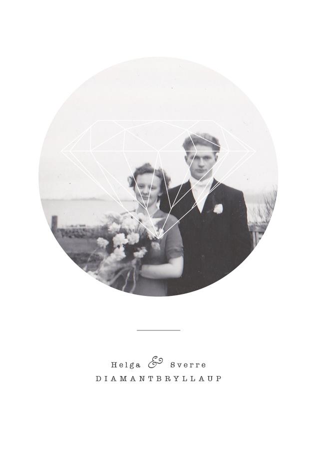 Silje Marita Lillebø // For my grandparents diamond wedding anniversary