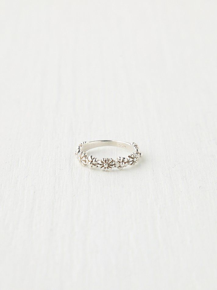 Stacking Delicate Ring at Free People Clothing Boutique / the free people stacking rings are just gorgeous! A collection of these circling to fingers at prom would be amazing!!! #topshoppromqueen