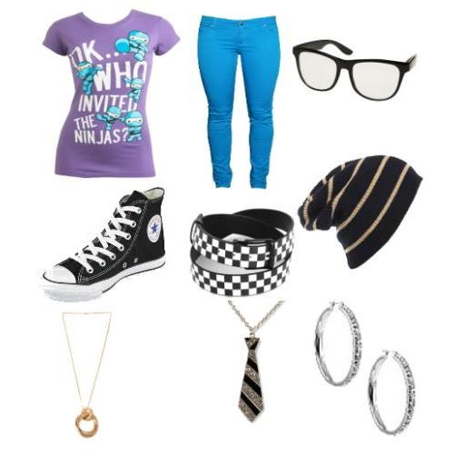 cute nerd outfits for nerd day | The Tackyest nerd Outfit Everrrrrrr xD - Avenue7 - Express your ...