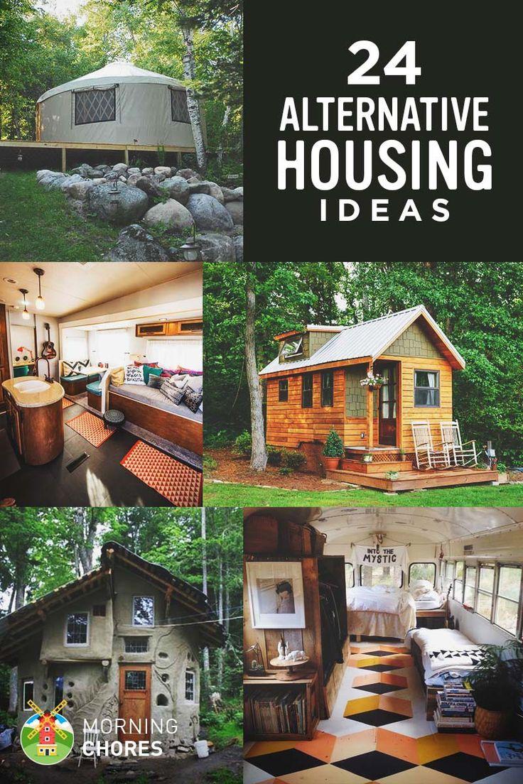 24 Cheap Alternative Housing Ideas