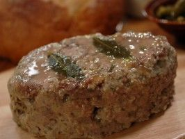 Country Terrine | use the freshest ingredients you can find.  It may not look great but the flavor is fantastic!  If you're afraid of the liver flavor...soak liver in milk for 30-60 minutes.