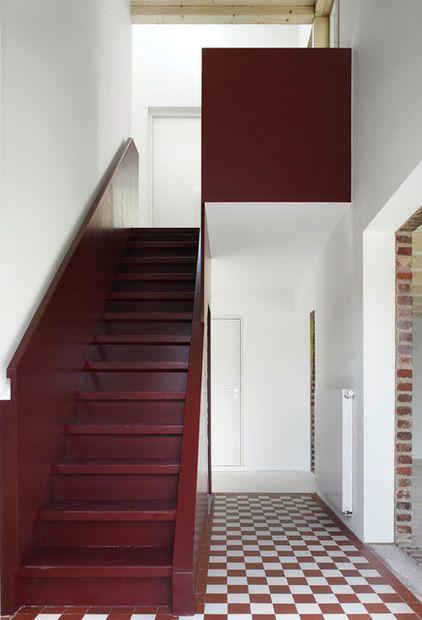 Eklektisch Treppenhaus by AMUNT Architekten Martenson und Nagel Theissen