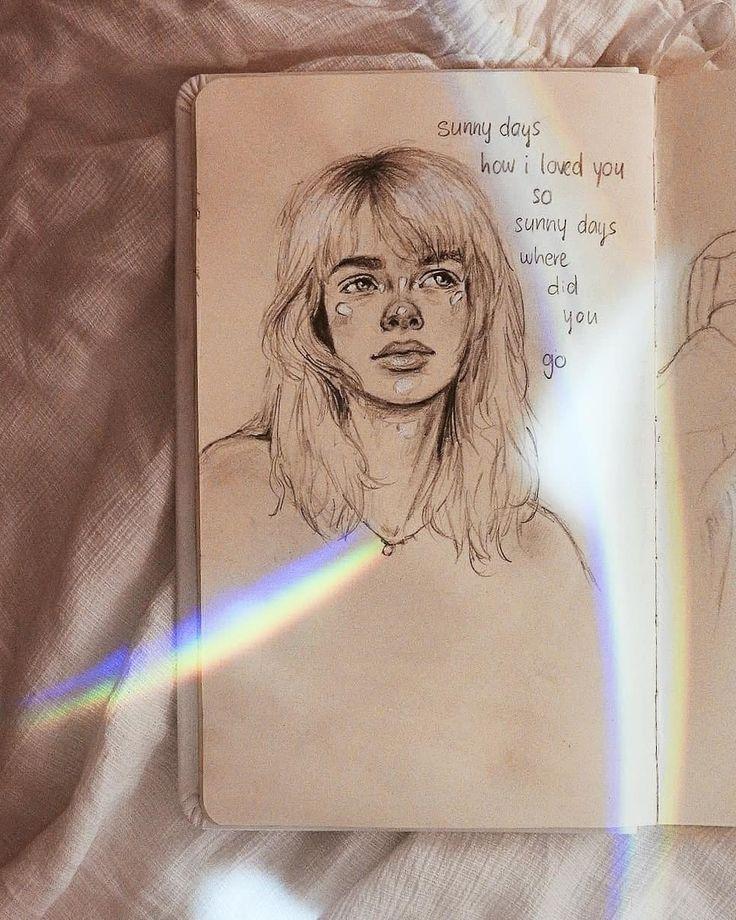 Pin On Sad Drawing
