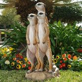 Found it at Wayfair - The Meerkat Gang Statue