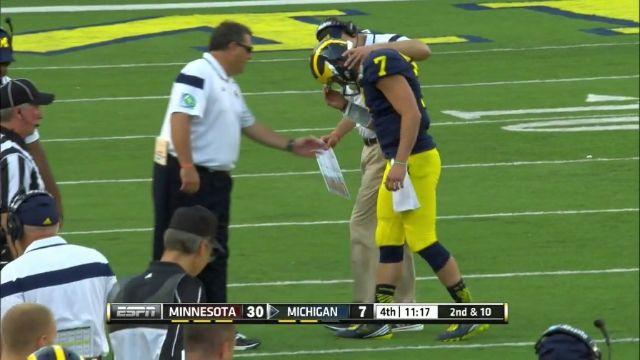 Michigan Coach Brady Hoke's Dangerous Incompetence So Bad ESPN Announcers Denounce It